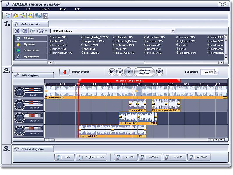 MAGIX Ringtone Maker Cracked preview 0